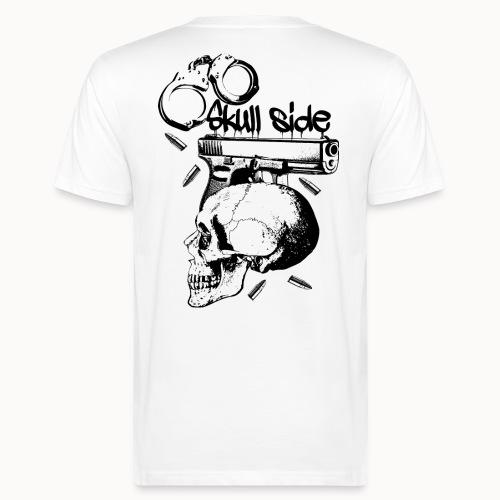 skull side - Männer Bio-T-Shirt