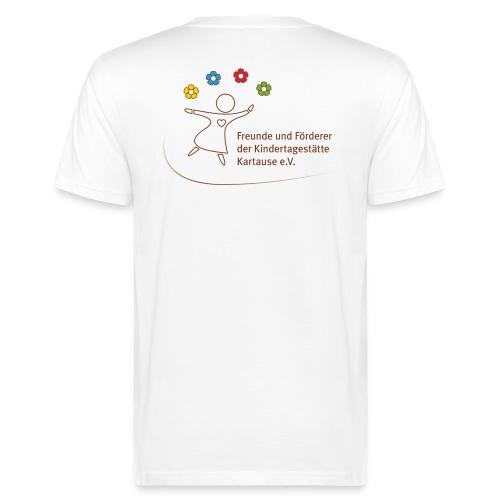 Foerderverein Kartause Logo - Männer Bio-T-Shirt