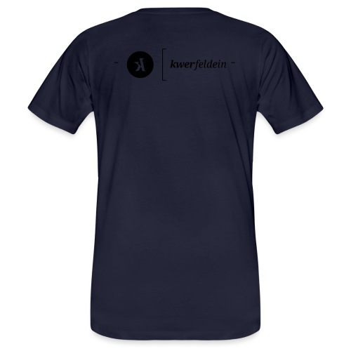 kwerfeldein - Männer Bio-T-Shirt