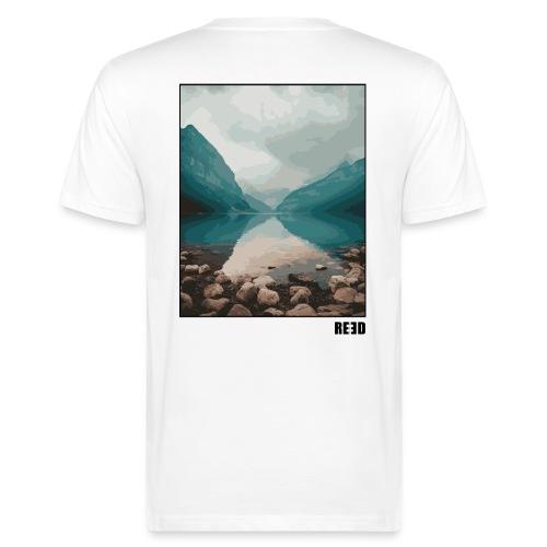 REED Backprint See - Männer Bio-T-Shirt