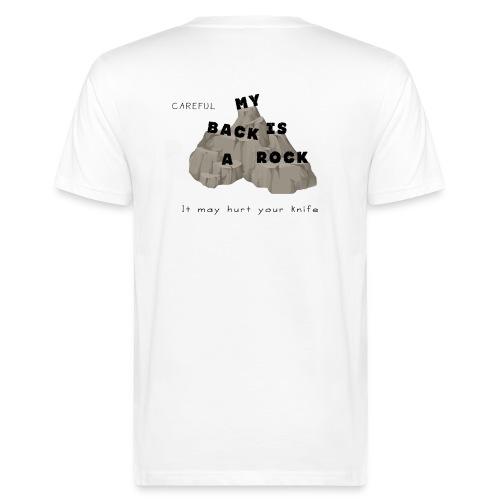 Back rock - Männer Bio-T-Shirt