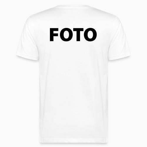FOTO (Svart tryck) - Ekologisk T-shirt herr