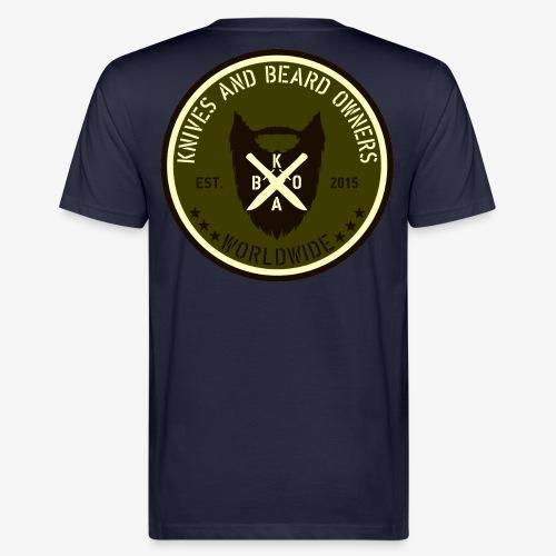 kabo logo gruen braun2 - Männer Bio-T-Shirt