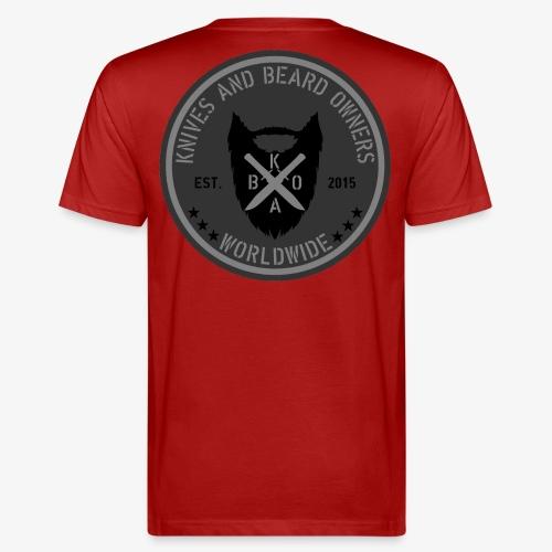 kabo logo grau - Männer Bio-T-Shirt