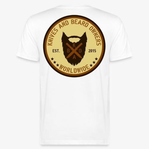 proto kabo beige braun - Männer Bio-T-Shirt