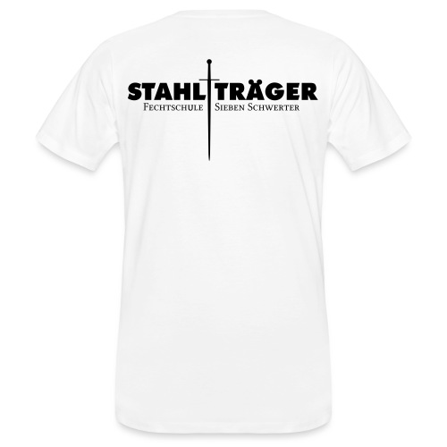 Stahlträger - Männer Bio-T-Shirt