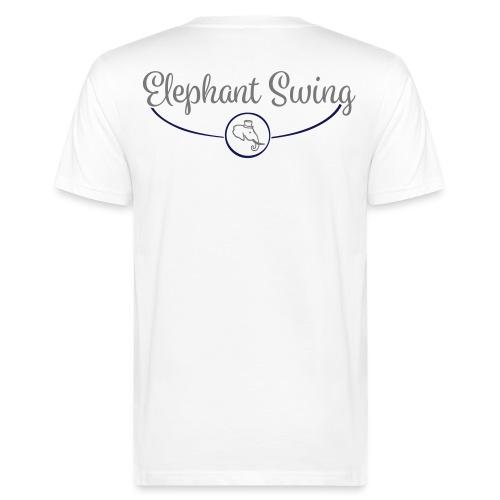 Elephant Swing Logo - Männer Bio-T-Shirt