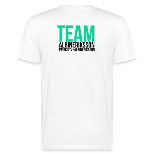 Team albinerikss0n Svart - Ekologisk T-shirt herr