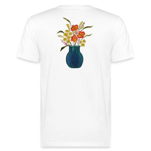 Vaso di Primavera - T-shirt ecologica da uomo