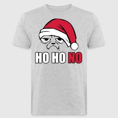 Grumpy christmas Cat - Ekologiczna koszulka męska