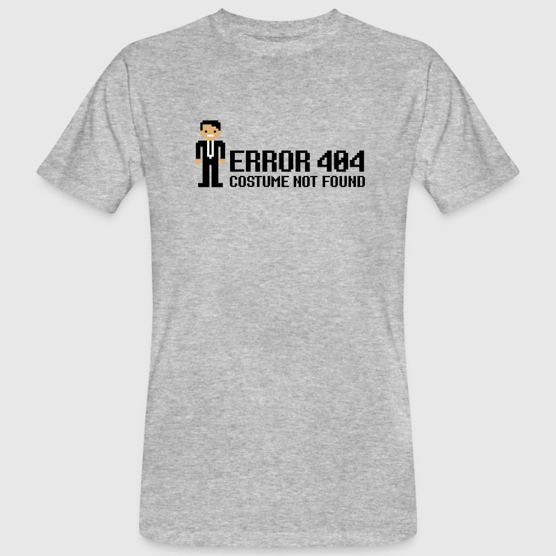 Error 404  - Costume not found - Camiseta ecológica hombre