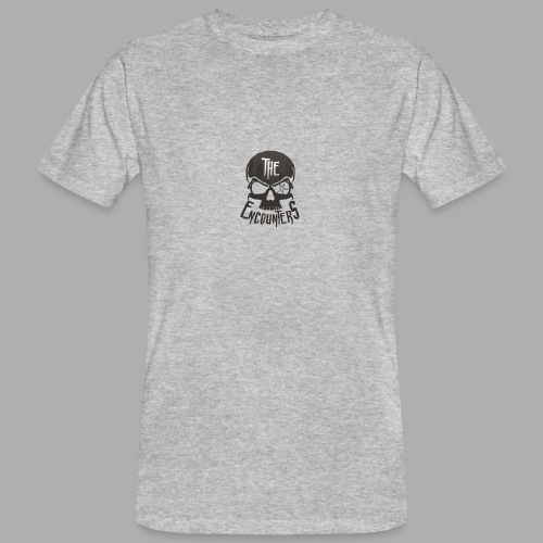 The Encounters Totenkopf - Männer Bio-T-Shirt