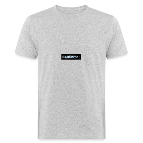 DerHardstyle.ch Kleines Logo - Männer Bio-T-Shirt