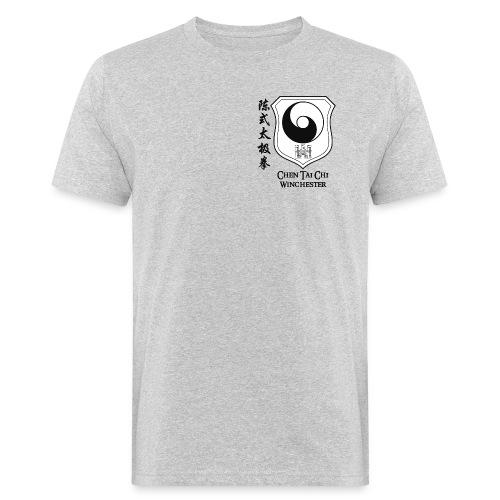 Coat of arms black on white - Men's Organic T-Shirt