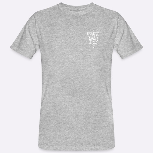 The 'V' by Heartcore Vegan - Mannen Bio-T-shirt
