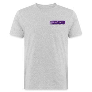 HANS HALL GmbH Logo - Männer Bio-T-Shirt