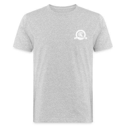 logo Multisporter wit - Mannen Bio-T-shirt