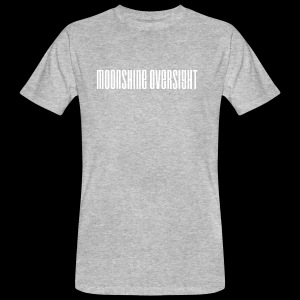 moonshine oversight blanc - T-shirt bio Homme