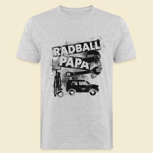 Radball | Papa - Männer Bio-T-Shirt