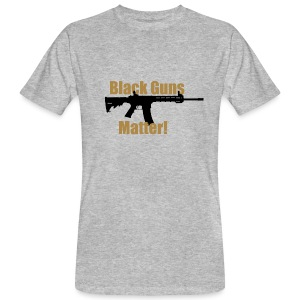BLACK GUNS MATTER - Männer Bio-T-Shirt