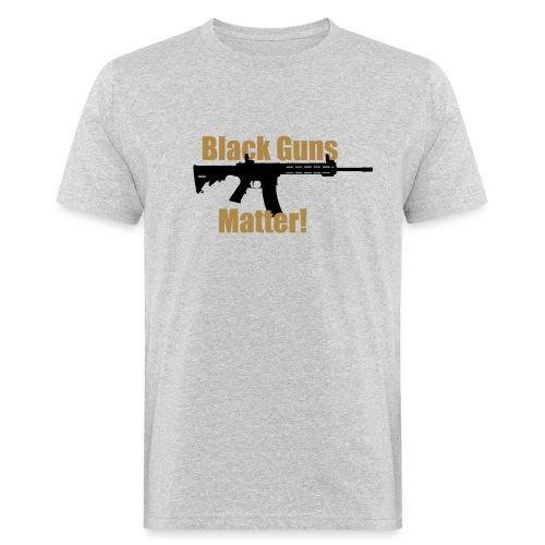 BLACK GUNS MATTER - Männer Bio-T-Shirt