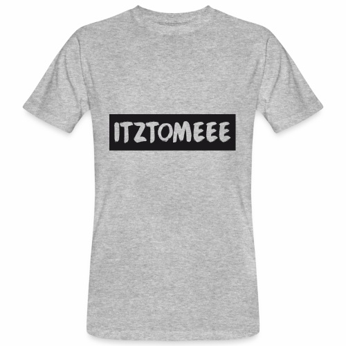 ItzTomeee Logo Black - Men's Organic T-Shirt