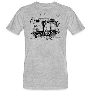 Sketch Expedition Truck Terratrotter® - Men's Organic T-shirt