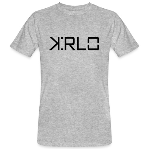 Kirlo Logotipo Negro - Camiseta ecológica hombre