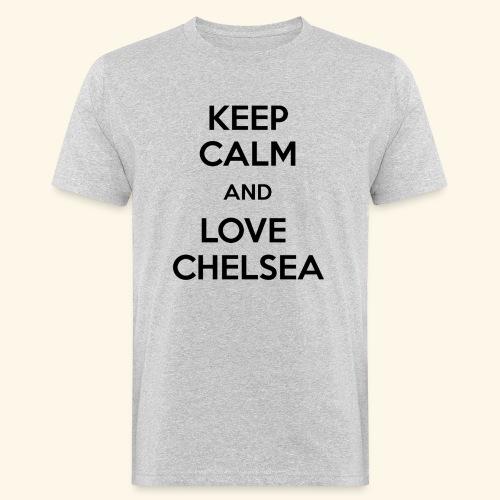 keep calm and love chelsea - Men's Organic T-Shirt