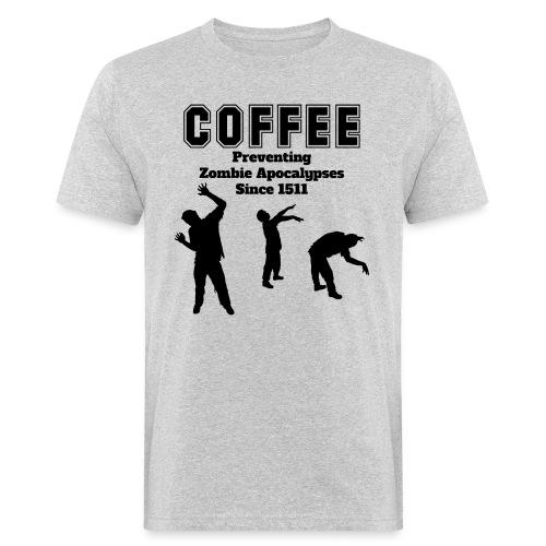 coffee apocalypse - Männer Bio-T-Shirt