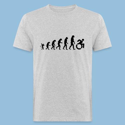 EvolutionWheelchair - Mannen Bio-T-shirt