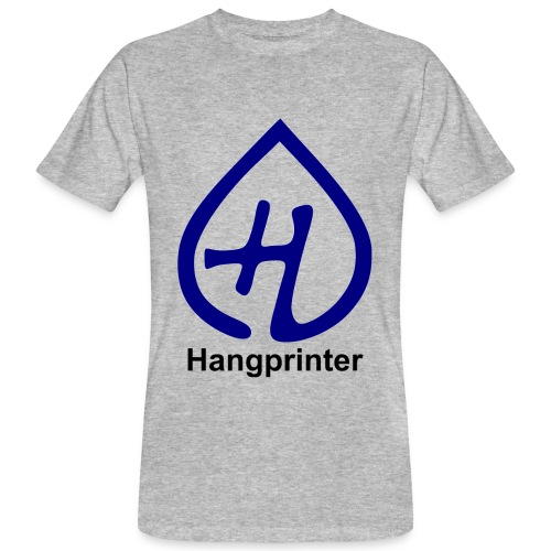 Hangprinter logo and text - Ekologisk T-shirt herr