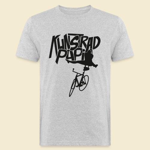 Kunstrad | Artistic Cycling - Kunstrad Papi black - Männer Bio-T-Shirt