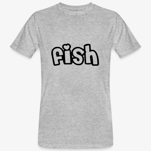 Einfaches Design - Männer Bio-T-Shirt