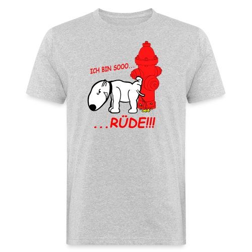 Rüden-Verhalten - Männer Bio-T-Shirt