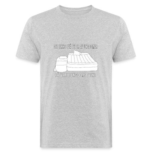 Två typer av ungdomar - Ekologisk T-shirt herr