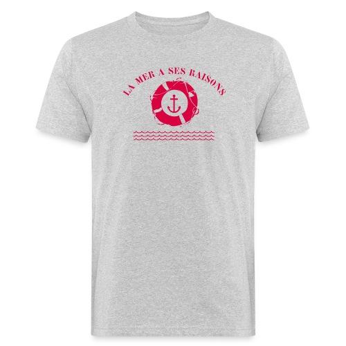 La mer a ses raisons - T-shirt bio Homme