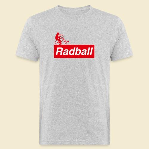 Radball | Red - Männer Bio-T-Shirt
