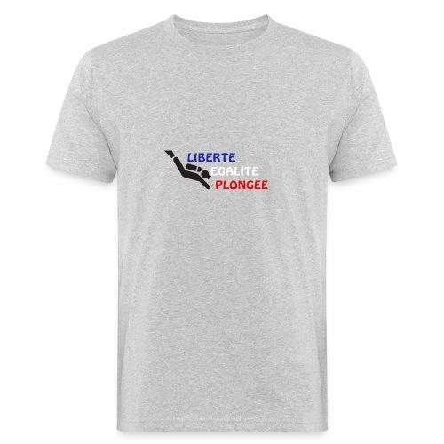 devise plongée - T-shirt bio Homme