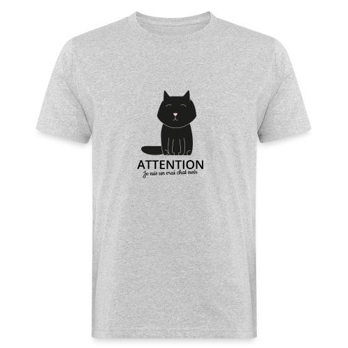 Chat noir - T-shirt bio Homme