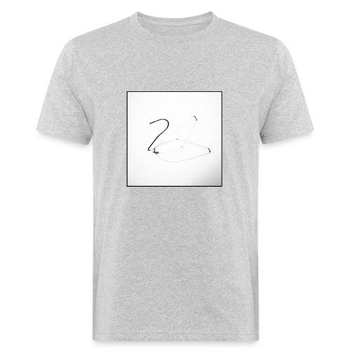 Schwan - Swan - Männer Bio-T-Shirt