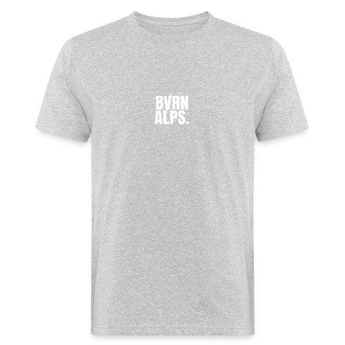 BVRN ALPS BLOCK SNOWBACKROUND WHITE Sweatshirt - Männer Bio-T-Shirt