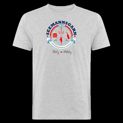 geweihbär Seemannsgarn 3 - Männer Bio-T-Shirt