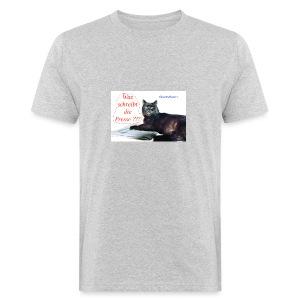 Gourmetkater Presse - Männer Bio-T-Shirt