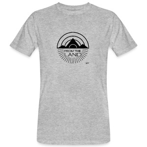 FROM THE LAND LOGO // AWEN - Men's Organic T-shirt
