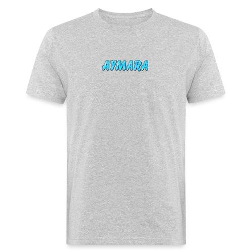 Aymara Logo - Økologisk T-skjorte for menn