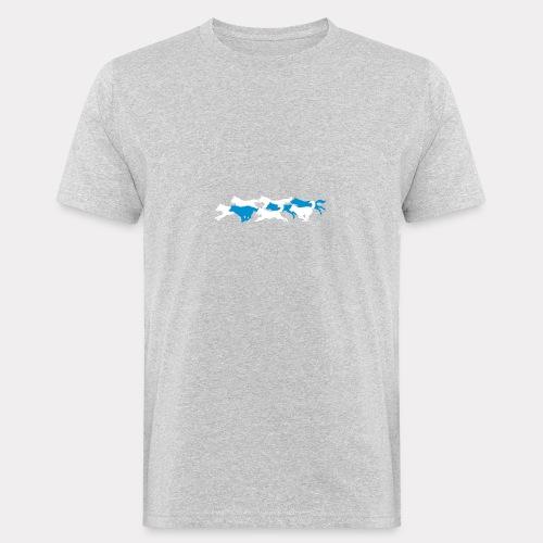 Wolfsrudel - Männer Bio-T-Shirt