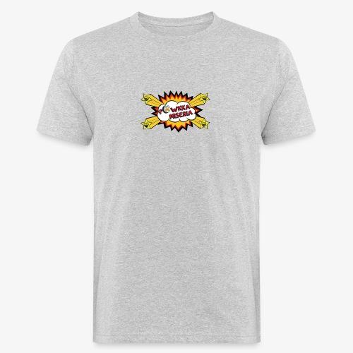 Powkka Miseria - T-shirt ecologica da uomo