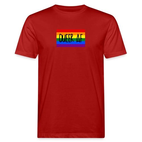 queer af - Männer Bio-T-Shirt