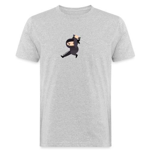 Ninjasingle sword - Männer Bio-T-Shirt
